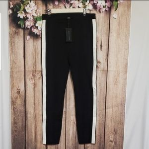 NWT Ralph Lauren black label tuxedo stripe pants